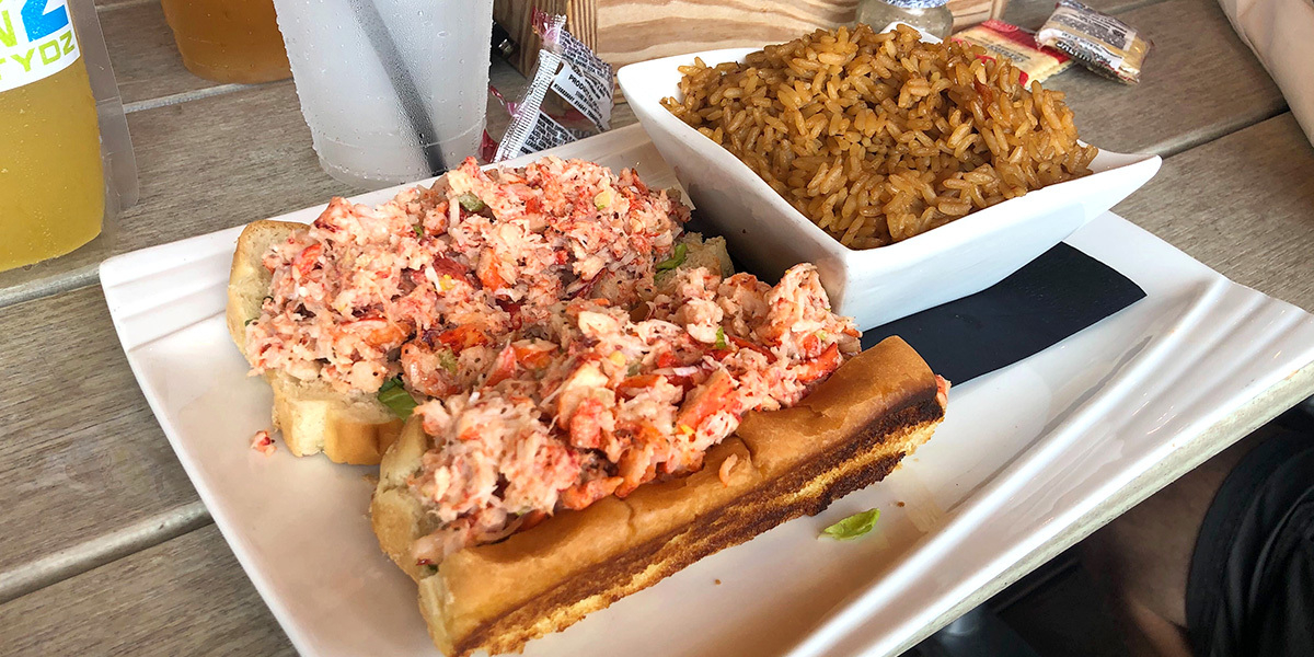 Lobster roll blue whistle