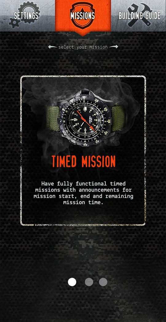 Objective box timed mission