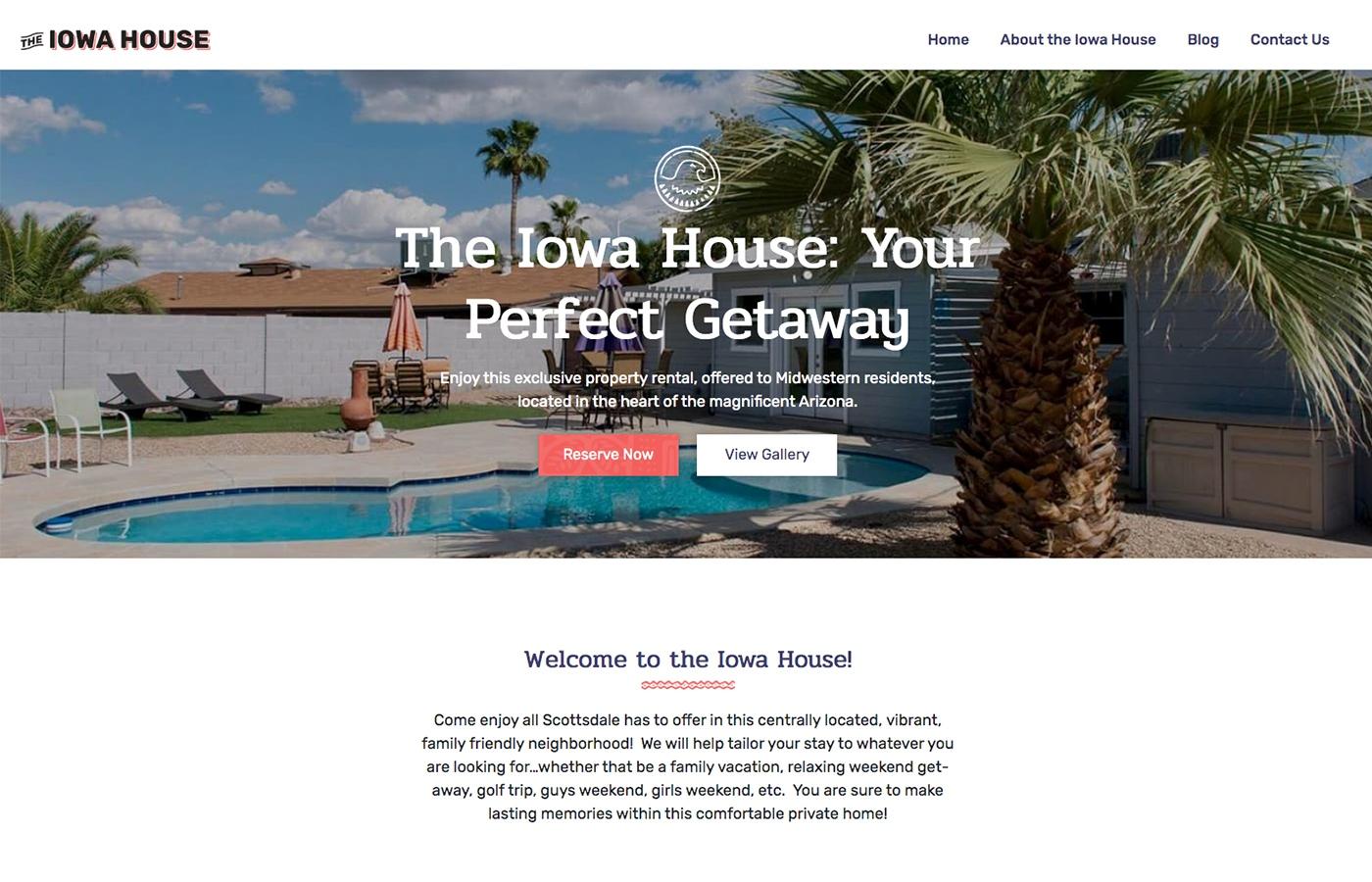 Iowa house desktop